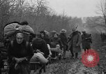 Image of French refugees with American soldiers in World War I France, 1918, second 57 stock footage video 65675042495
