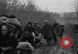 Image of French refugees with American soldiers in World War I France, 1918, second 58 stock footage video 65675042495