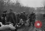Image of French refugees with American soldiers in World War I France, 1918, second 61 stock footage video 65675042495