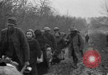 Image of French refugees with American soldiers in World War I France, 1918, second 62 stock footage video 65675042495