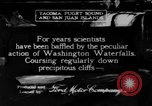 Image of Snoqualmie Falls Waterfall in 1917 Snoqualmie Washington USA, 1917, second 1 stock footage video 65675042497