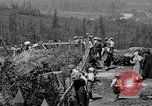 Image of Snoqualmie Falls Waterfall in 1917 Snoqualmie Washington USA, 1917, second 25 stock footage video 65675042497