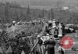 Image of Snoqualmie Falls Waterfall in 1917 Snoqualmie Washington USA, 1917, second 28 stock footage video 65675042497