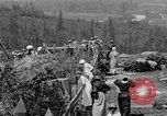 Image of Snoqualmie Falls Waterfall in 1917 Snoqualmie Washington USA, 1917, second 31 stock footage video 65675042497