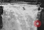 Image of Snoqualmie Falls Waterfall in 1917 Snoqualmie Washington USA, 1917, second 41 stock footage video 65675042497