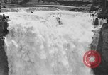 Image of Snoqualmie Falls Waterfall in 1917 Snoqualmie Washington USA, 1917, second 42 stock footage video 65675042497