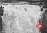 Image of Snoqualmie Falls Waterfall in 1917 Snoqualmie Washington USA, 1917, second 46 stock footage video 65675042497
