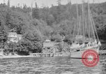 Image of Puget Sound coastline in early 1900s Tacoma Washington USA, 1917, second 16 stock footage video 65675042499