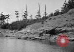 Image of Puget Sound coastline in early 1900s Tacoma Washington USA, 1917, second 18 stock footage video 65675042499