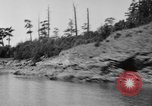 Image of Puget Sound coastline in early 1900s Tacoma Washington USA, 1917, second 19 stock footage video 65675042499