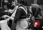 Image of distributing food Ruhr Germany, 1923, second 15 stock footage video 65675042504