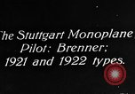 Image of Gotha biplane Germany, 1922, second 1 stock footage video 65675042528