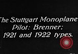 Image of Gotha biplane Germany, 1922, second 2 stock footage video 65675042528