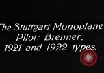 Image of Gotha biplane Germany, 1922, second 7 stock footage video 65675042528