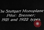 Image of Gotha biplane Germany, 1922, second 8 stock footage video 65675042528