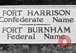 Image of Fort Harrison Richmond Virginia USA, 1953, second 45 stock footage video 65675042545