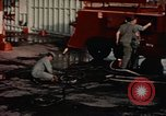 Image of American airmen in firehouse at airbase Takhli Thailand, 1964, second 13 stock footage video 65675042581