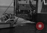 Image of mine sweep boats Sea of Japan, 1952, second 34 stock footage video 65675042591