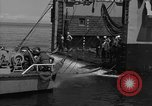 Image of mine sweep boats Sea of Japan, 1952, second 35 stock footage video 65675042591