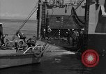 Image of mine sweep boats Sea of Japan, 1952, second 40 stock footage video 65675042591