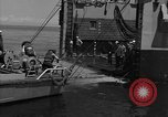 Image of mine sweep boats Sea of Japan, 1952, second 41 stock footage video 65675042591