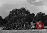 Image of United States Army African-American field artillery gun crew Mantes de Gassicourt France, 1944, second 11 stock footage video 65675042597