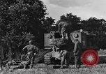 Image of United States Army African-American field artillery gun crew Mantes de Gassicourt France, 1944, second 16 stock footage video 65675042597
