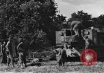 Image of United States Army African-American field artillery gun crew Mantes de Gassicourt France, 1944, second 22 stock footage video 65675042597