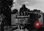 Image of United States Army African-American field artillery gun crew Mantes de Gassicourt France, 1944, second 30 stock footage video 65675042597