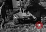 Image of United States Army African-American field artillery gun crew Mantes de Gassicourt France, 1944, second 31 stock footage video 65675042597