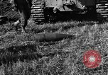 Image of United States Army African-American field artillery gun crew Mantes de Gassicourt France, 1944, second 32 stock footage video 65675042597