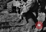 Image of United States Army African-American field artillery gun crew Mantes de Gassicourt France, 1944, second 37 stock footage video 65675042597