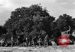 Image of United States Army African-American field artillery gun crew Mantes de Gassicourt France, 1944, second 41 stock footage video 65675042597