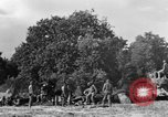 Image of United States Army African-American field artillery gun crew Mantes de Gassicourt France, 1944, second 42 stock footage video 65675042597