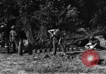 Image of United States Army African-American field artillery gun crew Mantes de Gassicourt France, 1944, second 50 stock footage video 65675042597