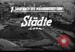 Image of reconstruction Hamburg Germany, 1949, second 3 stock footage video 65675042627