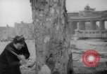 Image of cutting trees Berlin Germany, 1945, second 19 stock footage video 65675042631