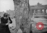 Image of cutting trees Berlin Germany, 1945, second 22 stock footage video 65675042631