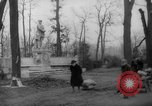 Image of cutting trees Berlin Germany, 1945, second 42 stock footage video 65675042631