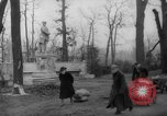 Image of cutting trees Berlin Germany, 1945, second 43 stock footage video 65675042631