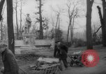 Image of cutting trees Berlin Germany, 1945, second 46 stock footage video 65675042631
