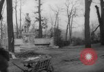 Image of cutting trees Berlin Germany, 1945, second 49 stock footage video 65675042631