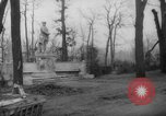 Image of cutting trees Berlin Germany, 1945, second 50 stock footage video 65675042631