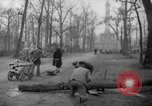 Image of cutting trees Berlin Germany, 1945, second 53 stock footage video 65675042631