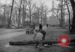 Image of cutting trees Berlin Germany, 1945, second 59 stock footage video 65675042631