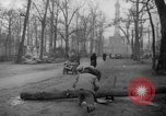 Image of cutting trees Berlin Germany, 1945, second 60 stock footage video 65675042631