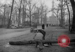 Image of cutting trees Berlin Germany, 1945, second 61 stock footage video 65675042631