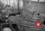 Image of cutting trees Berlin Germany, 1945, second 62 stock footage video 65675042631