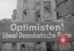 Image of Liberal Democratic Party Berlin Germany, 1946, second 57 stock footage video 65675042635