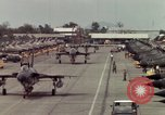 Image of United States F-105 aircraft Vietnam, 1967, second 42 stock footage video 65675042664